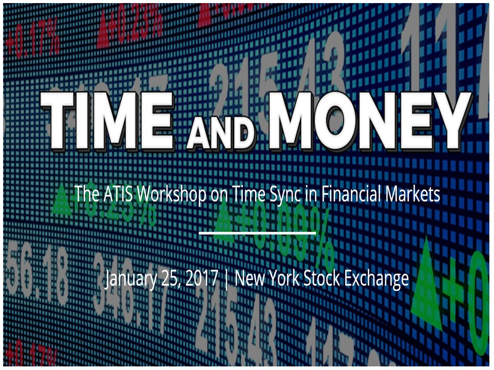 ATIS Time & Money Workshop – 25 Jan 17