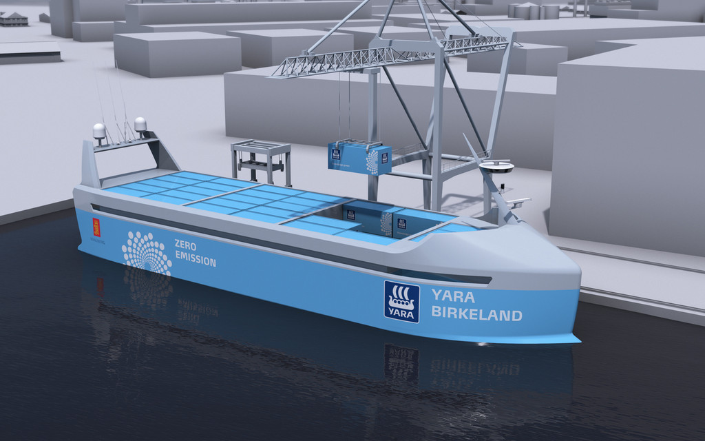 Norway Takes Lead in Race to Build Autonomous Cargo Ships – WSJ