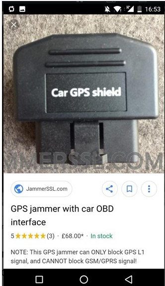 New, More Convenient GPS Jammer Available