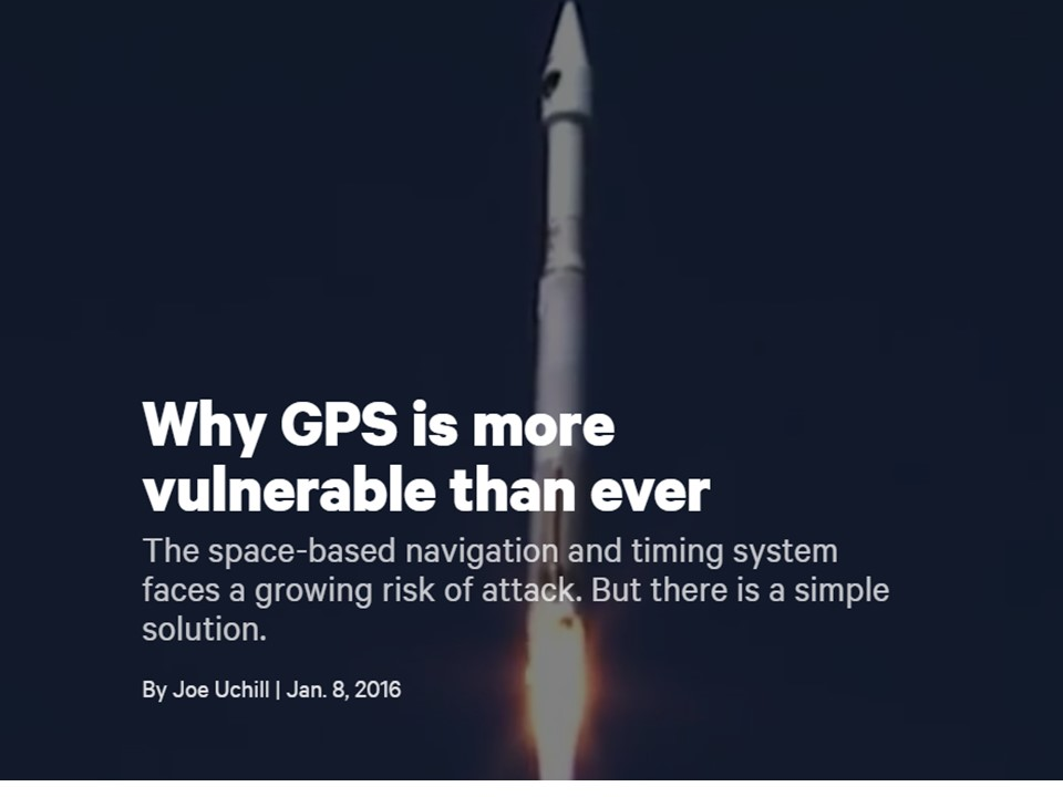 Christian Sci Monitor – Why GPS is More Vulnerable than Ever
