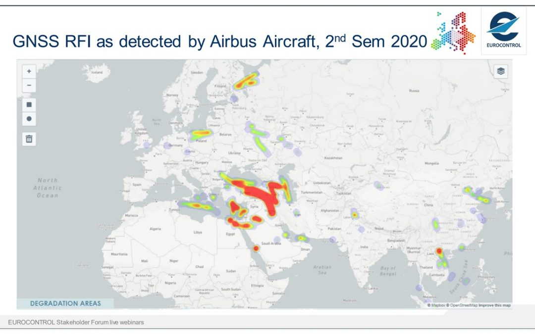 """""""Dangerous & Costly to Airlines"""" – EUROCONTROL on GNSS Interference"""