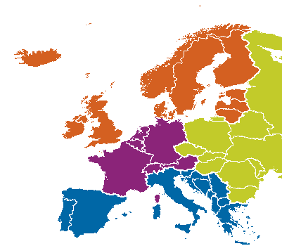Europe GPS Navigation