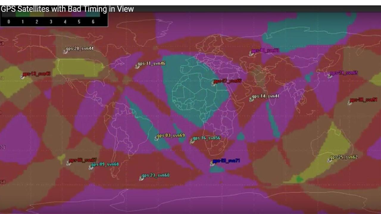 15 of 31 GPS Satellites Had Errors – See Animation