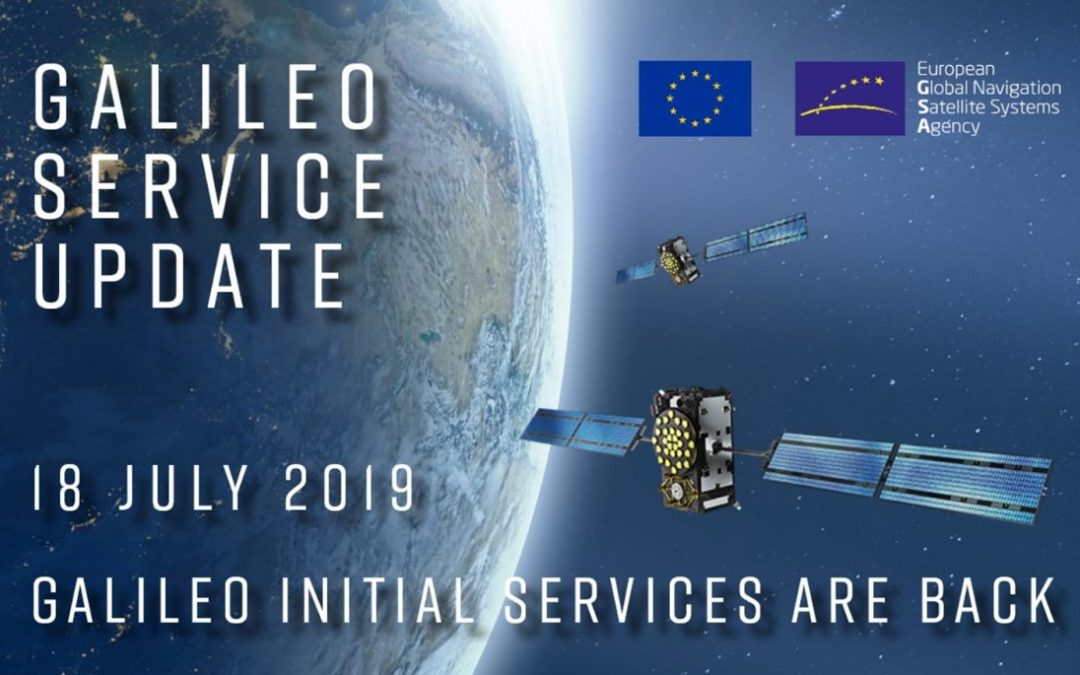 Galileo is Back – Still little info from GSA