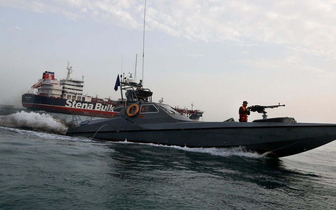 Navigation War in Persian Gulf Hits the News
