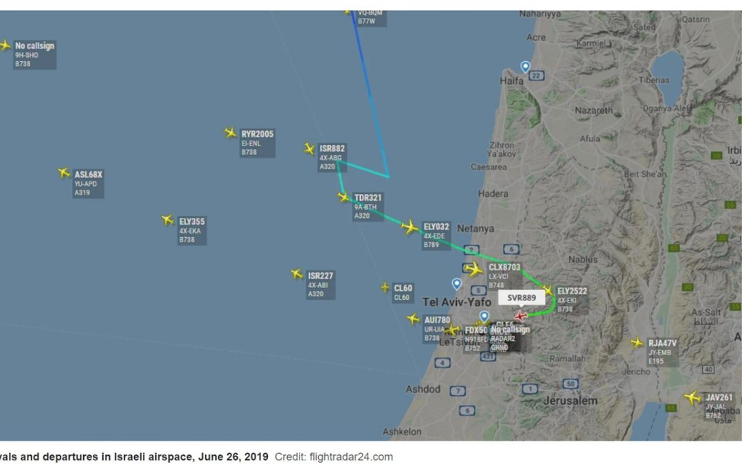 Israel says GPS mysteriously disrupted in its airspace but planes secure – Reuters