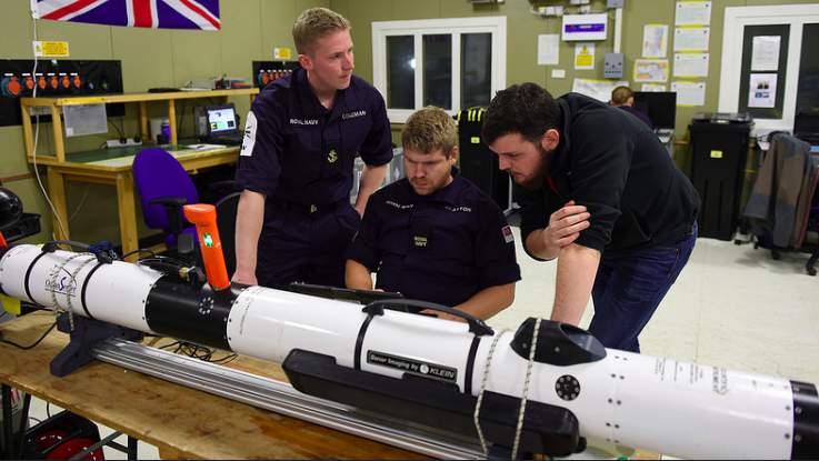 """Largest Unmanned Naval Systems Exercise Begins – """"Maritime Executive"""""""