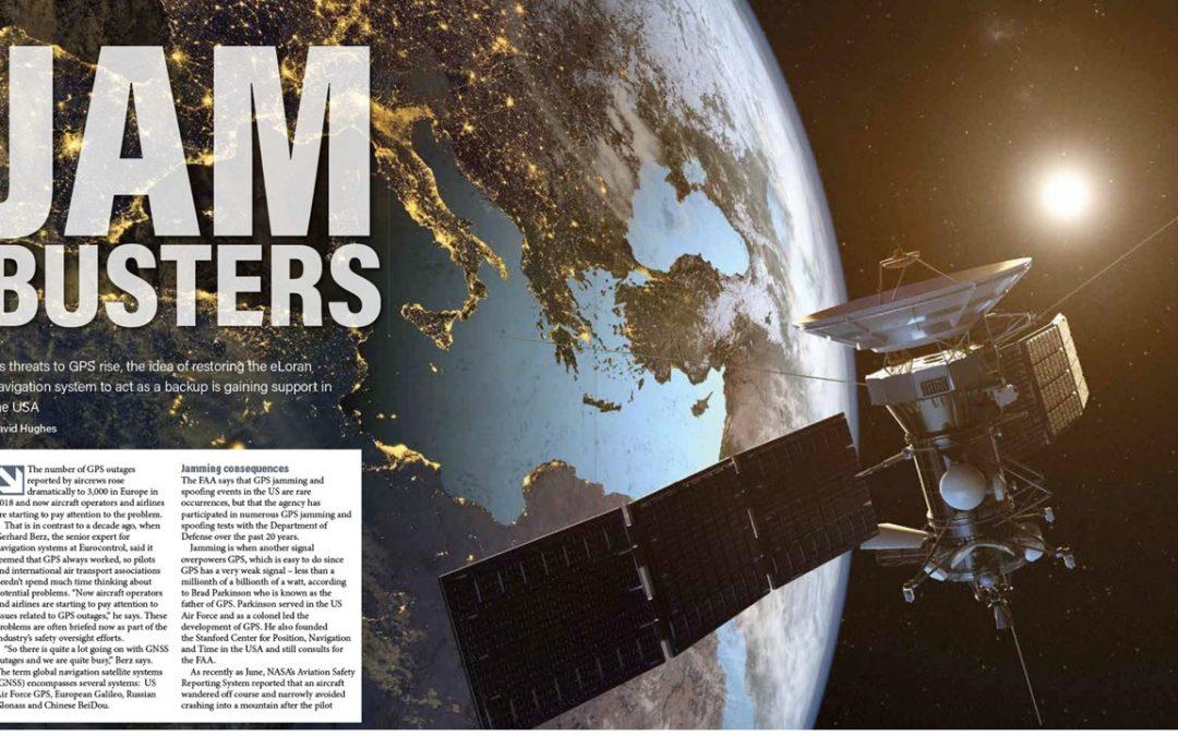 Jam Busters (eLoran & Aviation) – Air Traffic Technology International