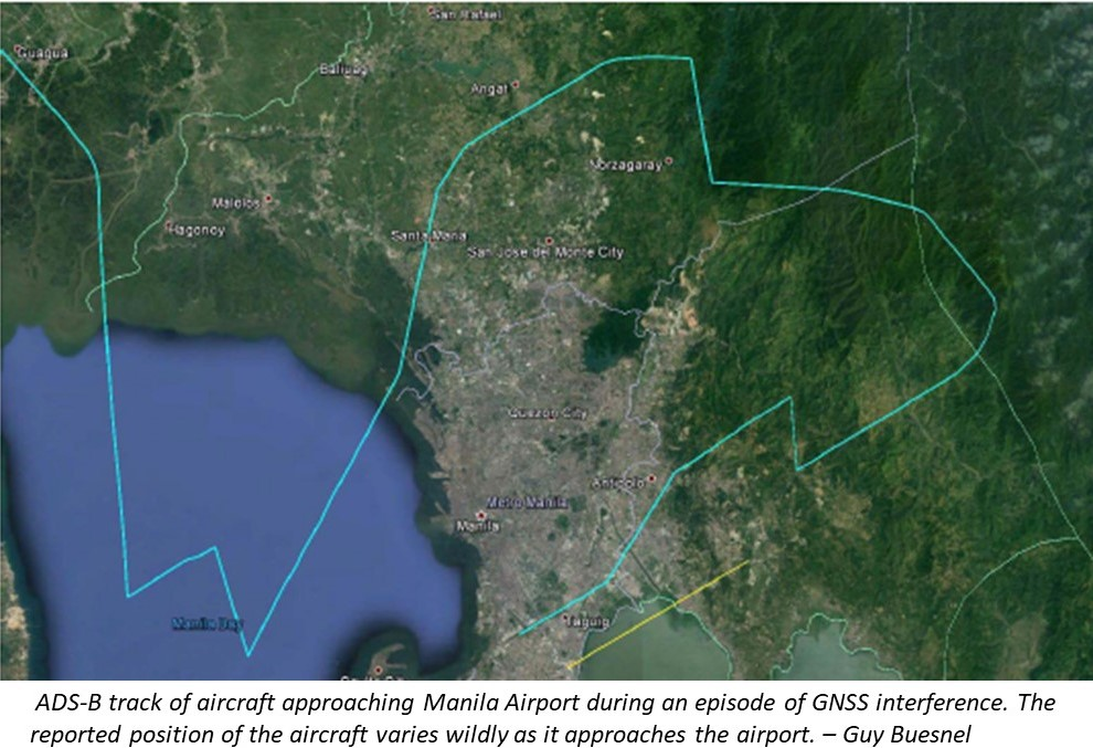 """""""Expect your GPS to be Trashed""""- GPS & ADS-B Problems At Manila Airport"""