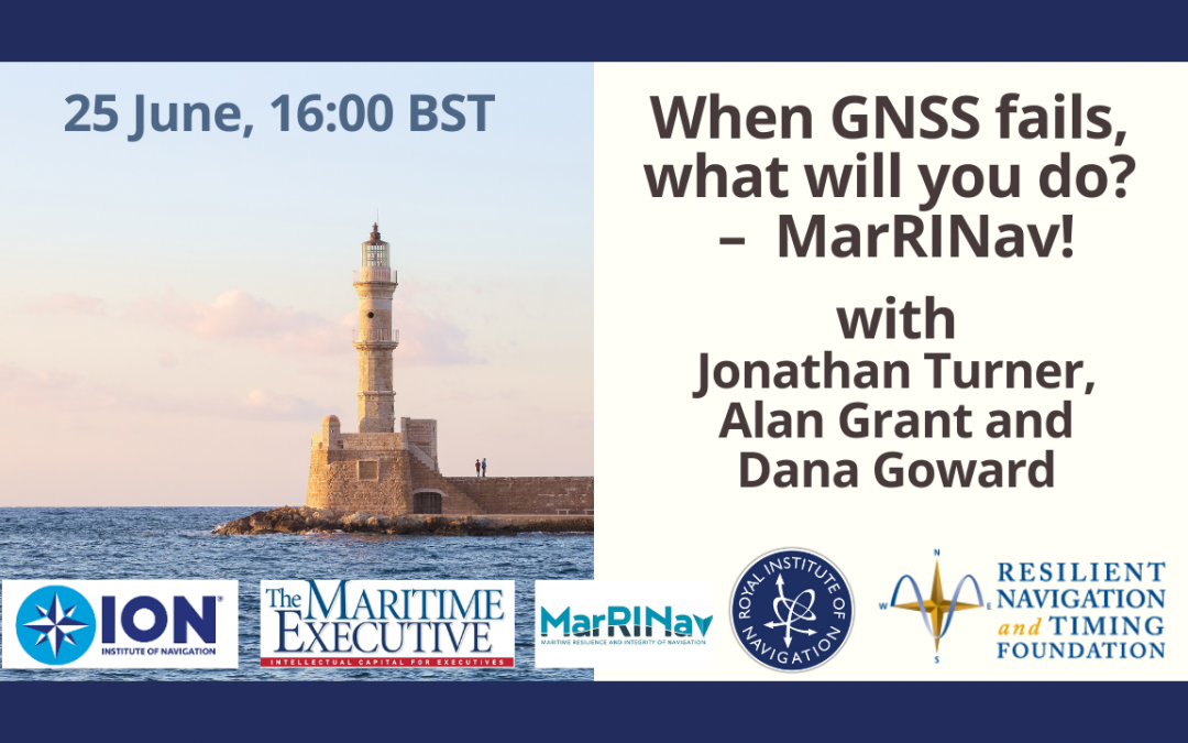 When GNSS Fails, What Are You Going To Do? – MarRINav!