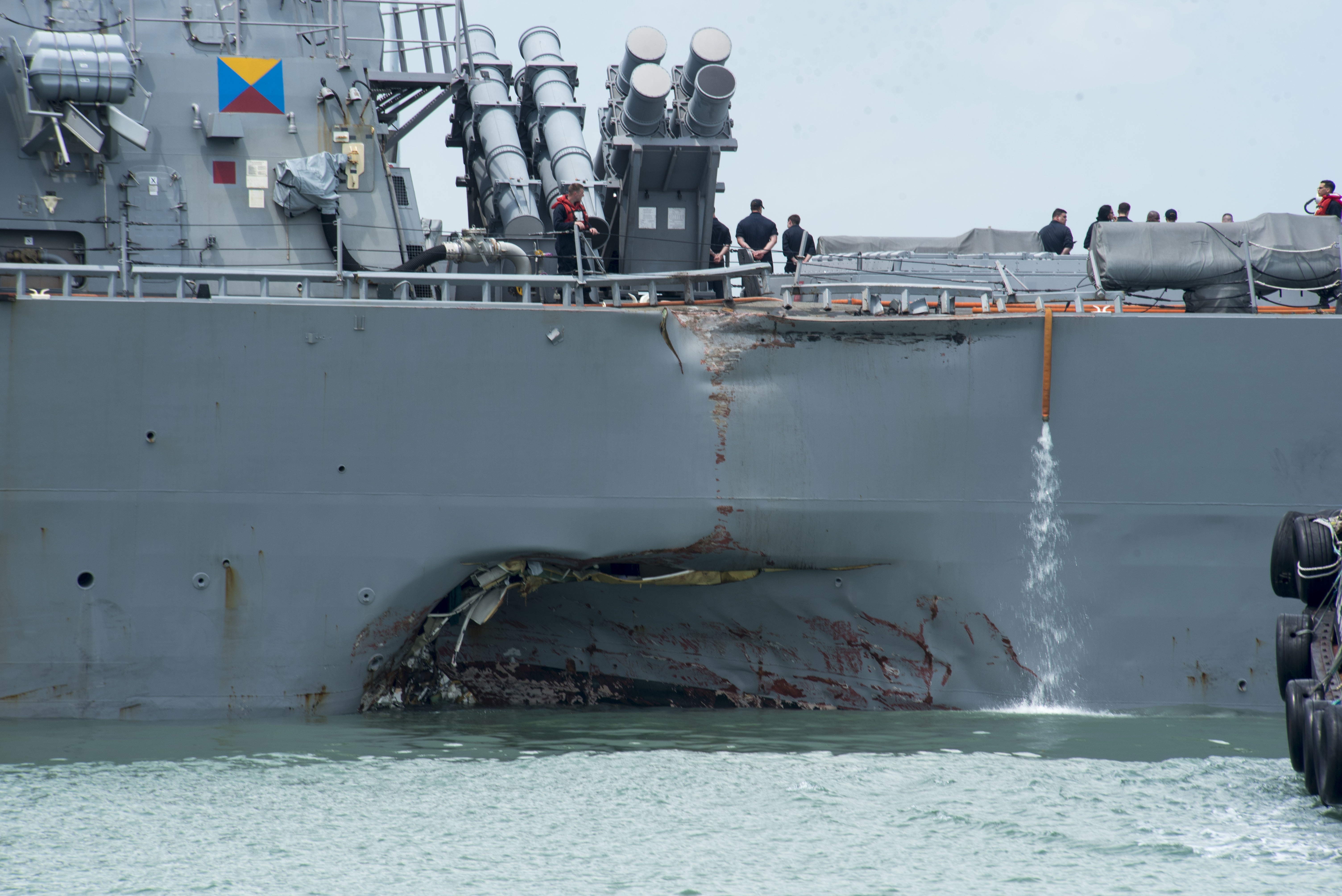 Navy Opens Cyber-Collision Probes, Changes AIS Policy