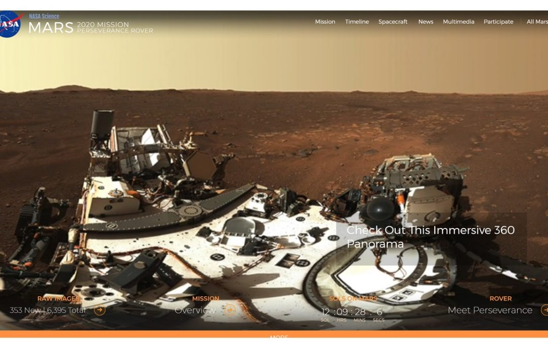 Webinar – Navigation of the Mars 2020 Perseverance Rover – ION & NASA 23 March
