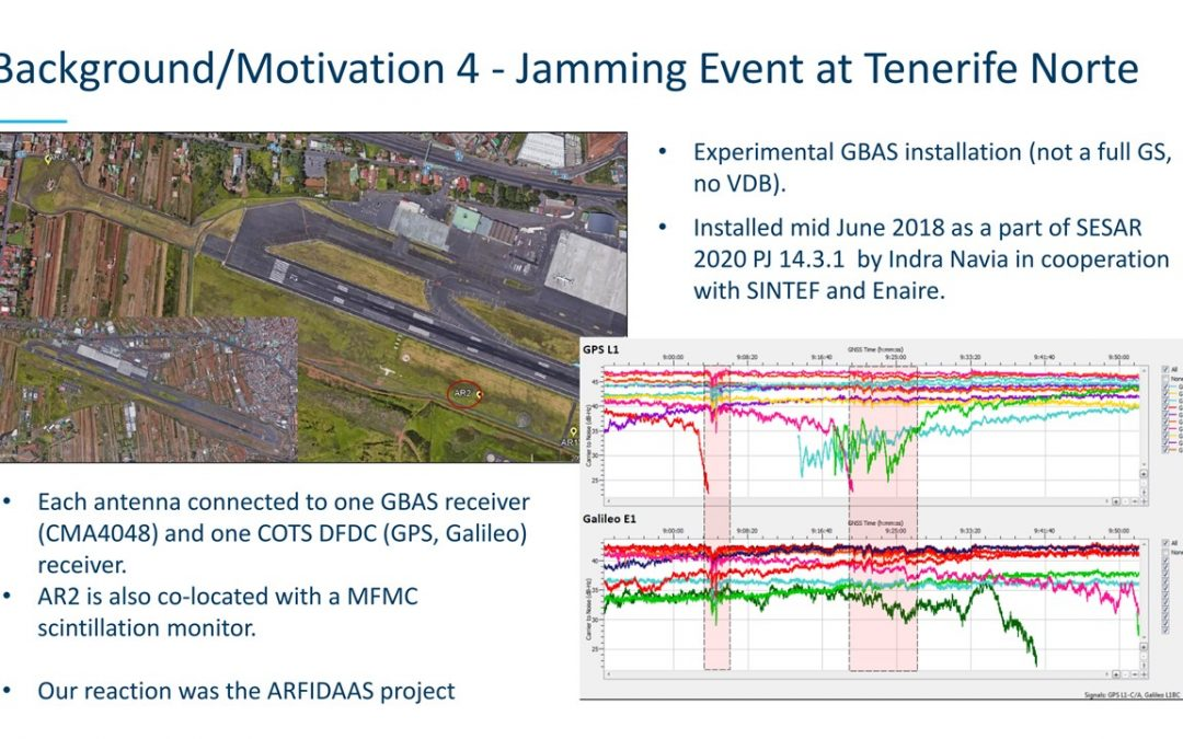 Norway/ESA Study Reports on GNSS Jamming/Spoofing