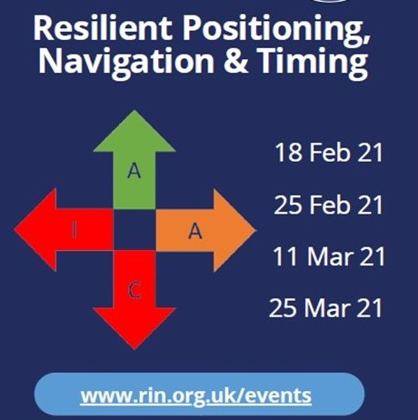 Resilient PNT Free Seminars – Royal Institute of Navigation