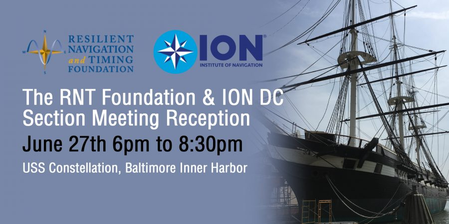 Header image of RNT Foundation & ION DC Section Meeting
