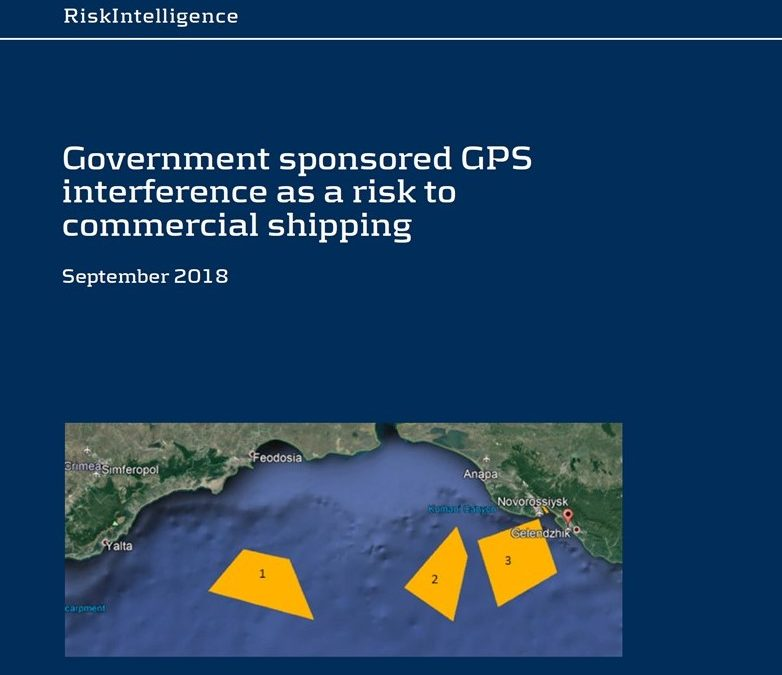 Government GPS Jamming & Spoofing a Risk to Commercial Shipping – Risk Intelligence