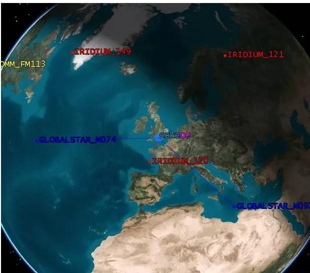 Alternate navigation using satellite signals of opportunity – Roke
