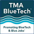 TMA BlueTech Logo with border