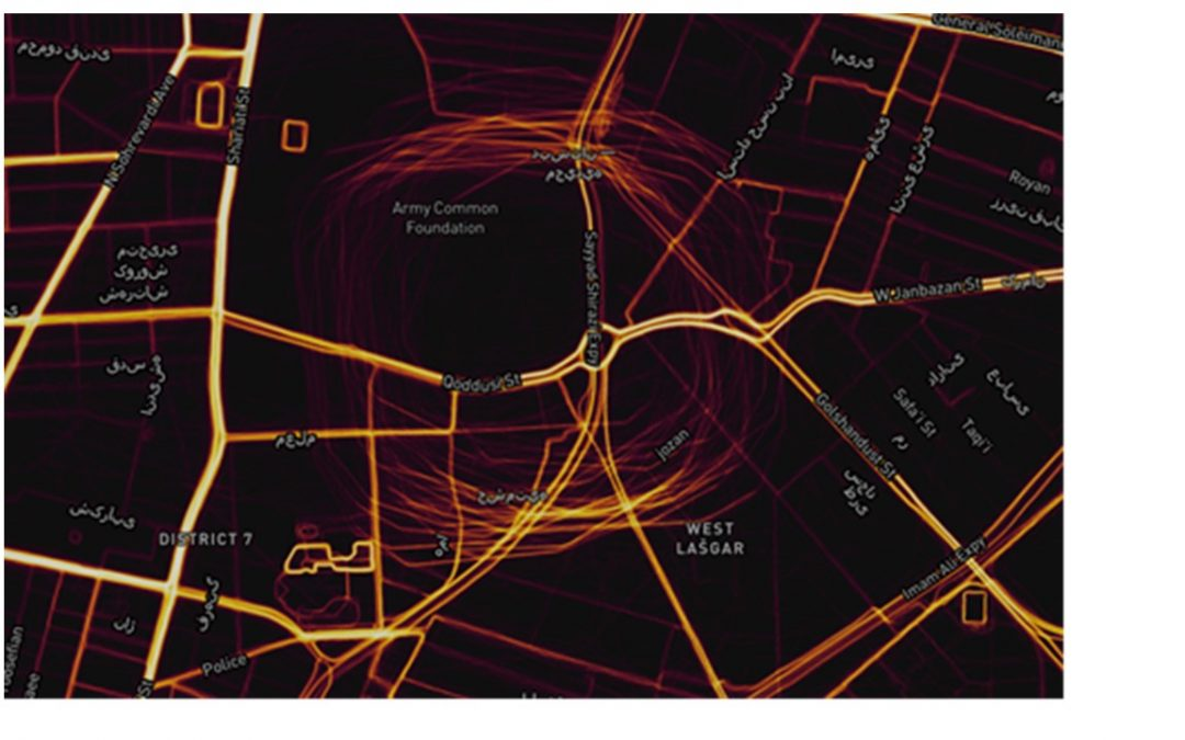 GPS Circle Spoofing Discovered in Iran – GPS World