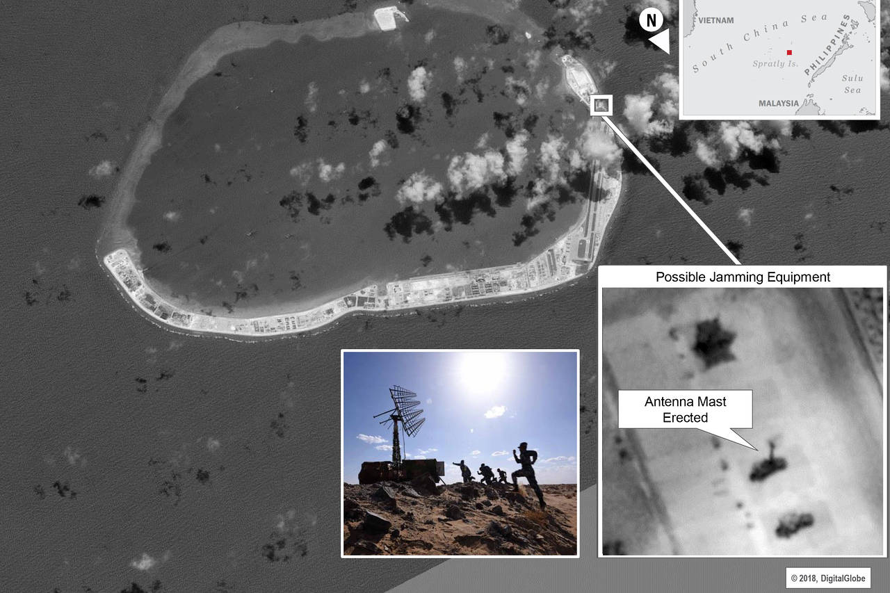 China Installed Jammers on Spratly Islands – Wall Street Journal