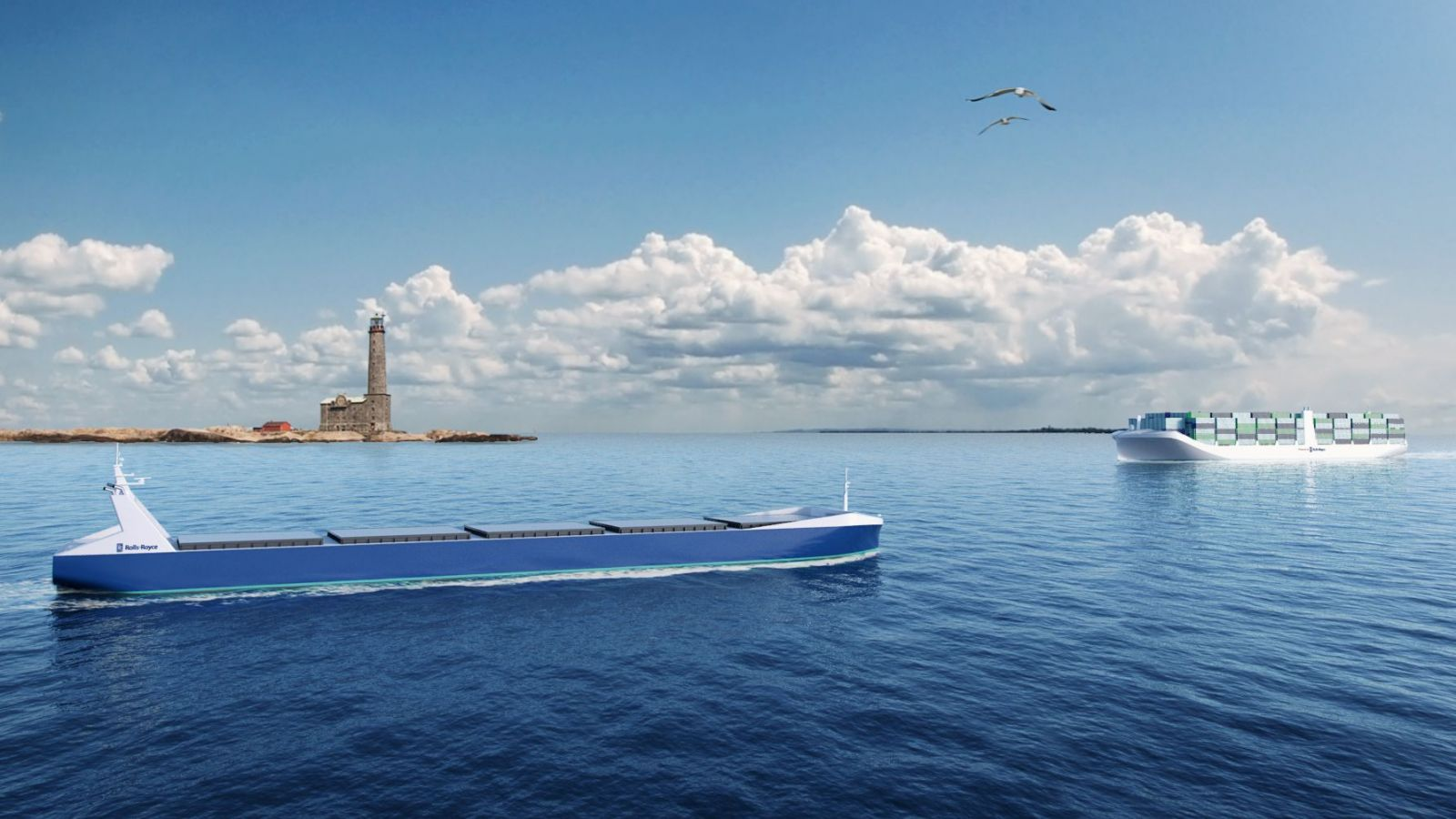 Robot Ships Trading by 2020