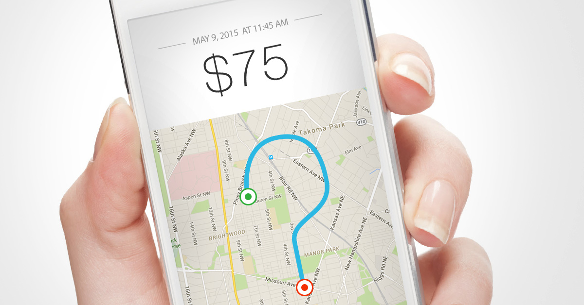 Jumping GPS Hurting Uber
